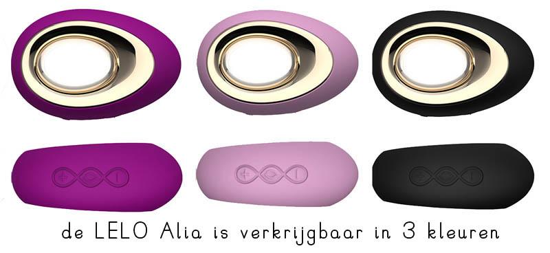 lelo alia 4 kleuren