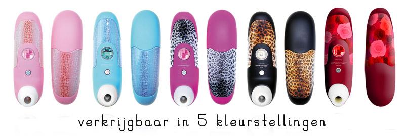 womanizer vibrator 5 kleuren