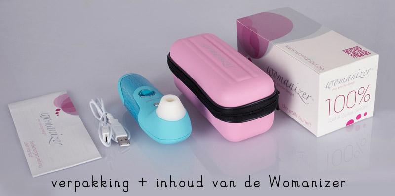 womanizer vibrator verpakking